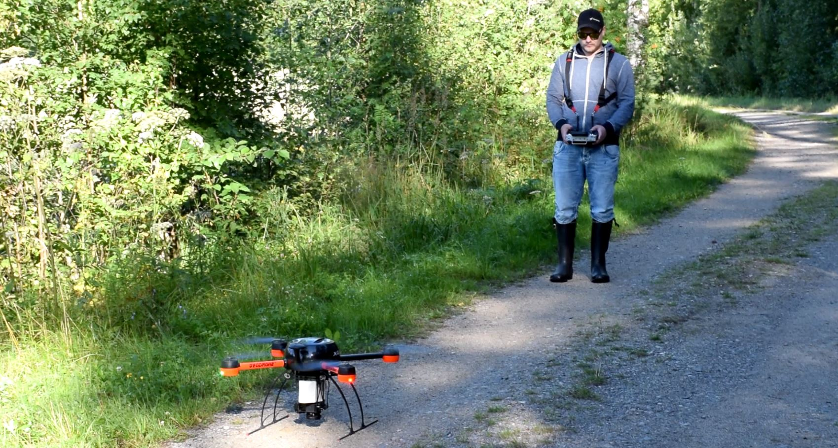 Forest inventory with UAV | UAS | lidar | point cloud | volumetric